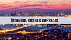 İstanbul KOSGEB Kursları 2018